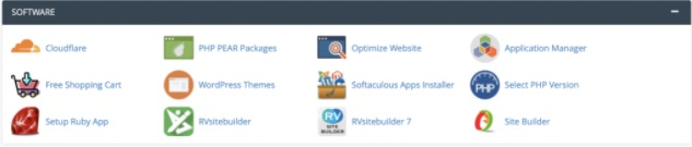 cPanel Guide Software Installations